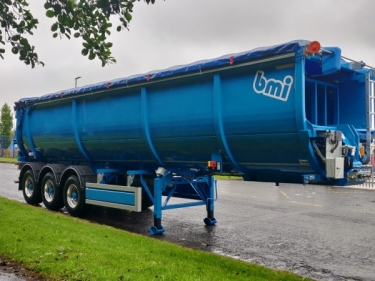 bespoke bmi RockPusher made for Irish Waste ltd.