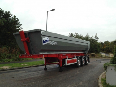 Half Pipe Alloy Tipper