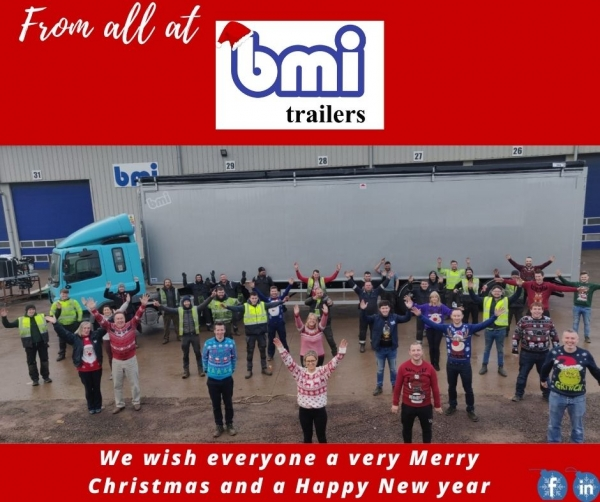 Merry Christmas to everyone from all at bmi trailers