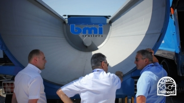 bmi trailers exhibiting at Hillhead 2020 in June