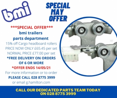bmi parts department's spring offer