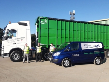 Bmi trailers after sales and service team on hand at Monks this week