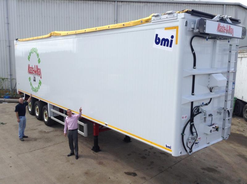 Waste-A-Way final trailer delivered