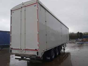2014 bmi 130CuYd walking floor® trailer