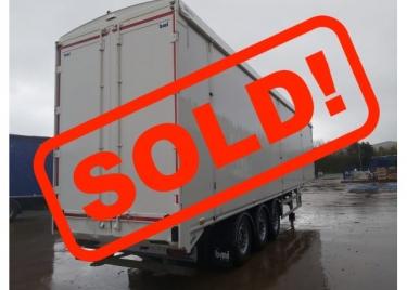2014 bmi 130CuYd walking floor® trailer