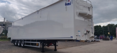 2 x 115 cu yd Moving Floor Euro Spec Trailers