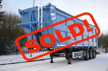 New HardBox scrap tipper trailer in stock